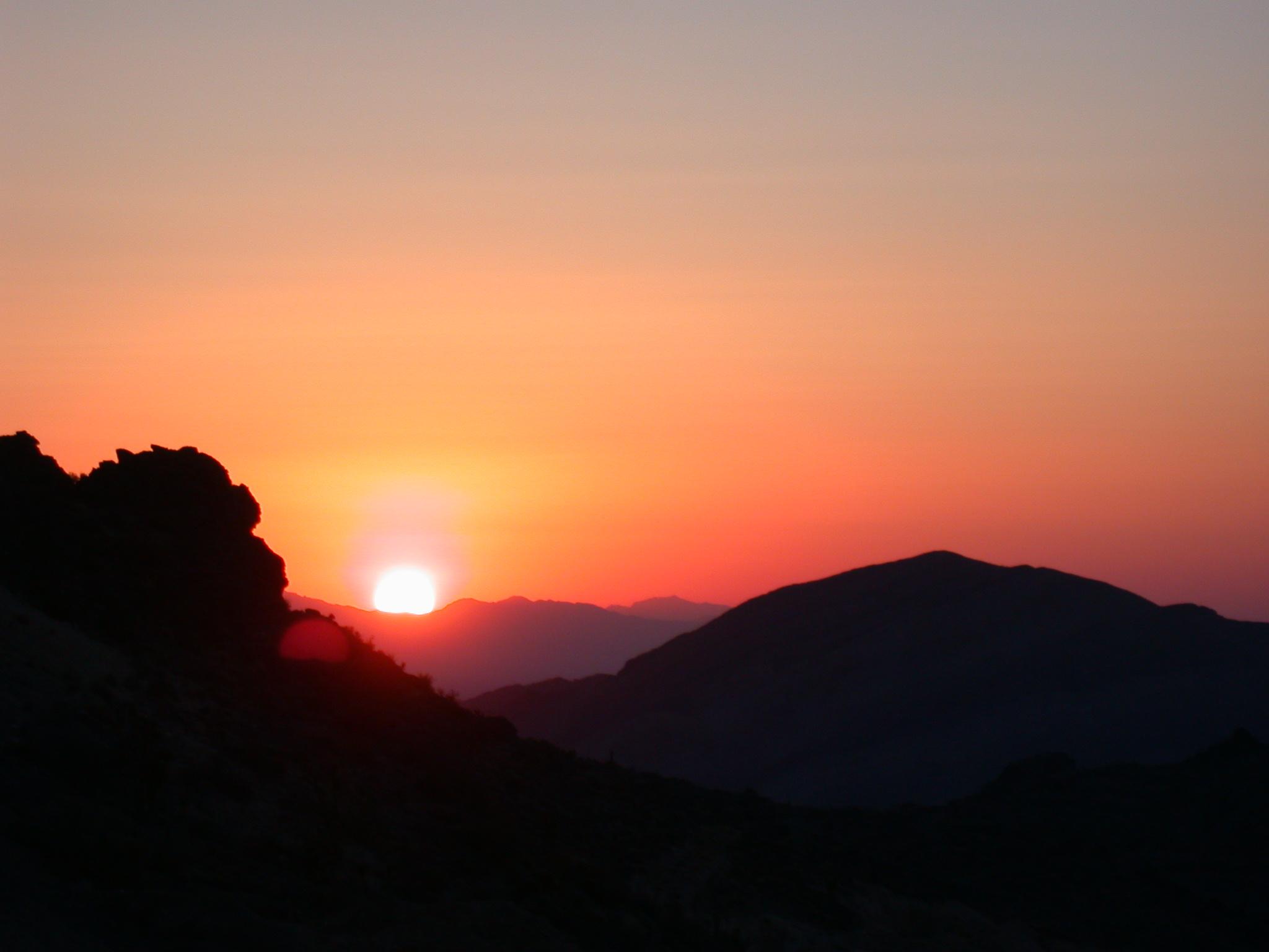 Sandy Valley Sunset